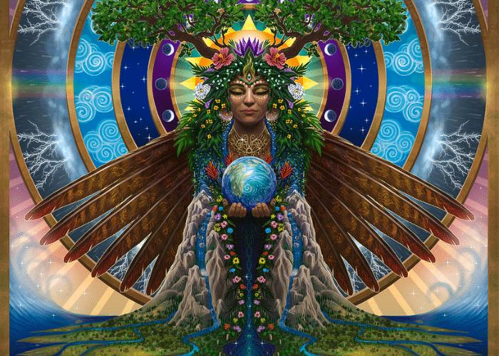 Gaia Image: Gaia: The Greek Mother Earth