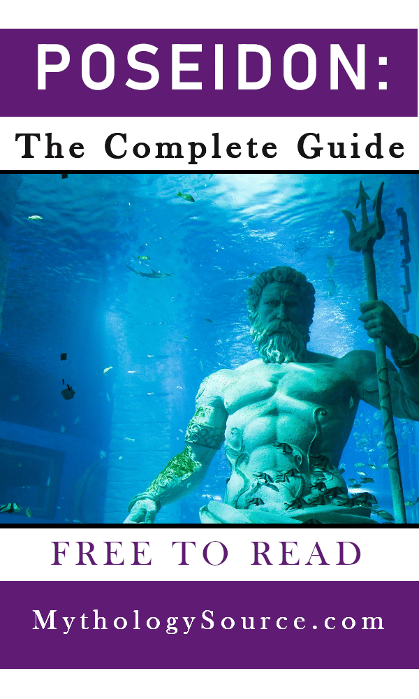 POSEIDON 1: Poseidon: The Greek God of the Sea