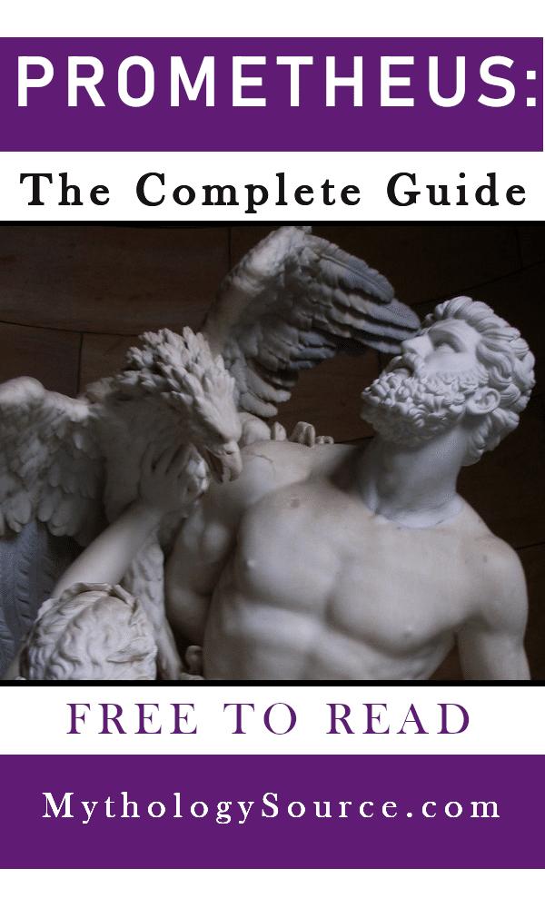 PROMETHEUS 1: Prometheus: The Titan Who Gave Man Fire