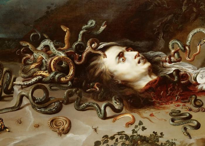 medusa severed head