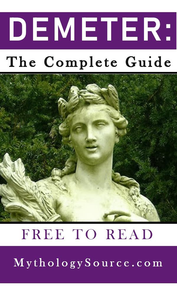 DEMETER: Demeter: The Greek Goddess of Grain