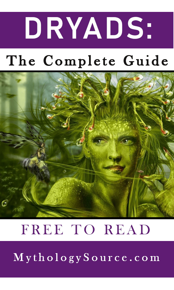 DRYADS: Dryads: The Nymphs of the Trees