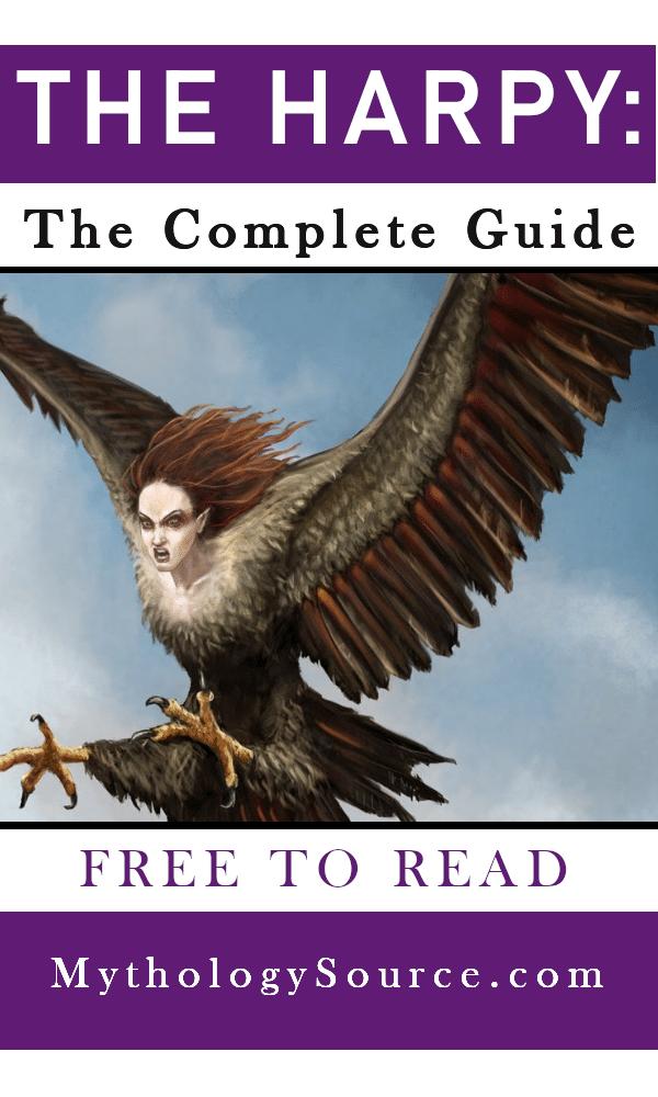 HARPY: The Harpy: Destructive Spirits of Greek Mythology