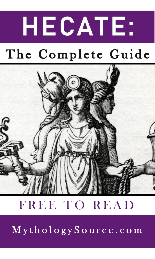 HECATE: Hecate Greek Goddess of Witchcraft : The Complete Guide