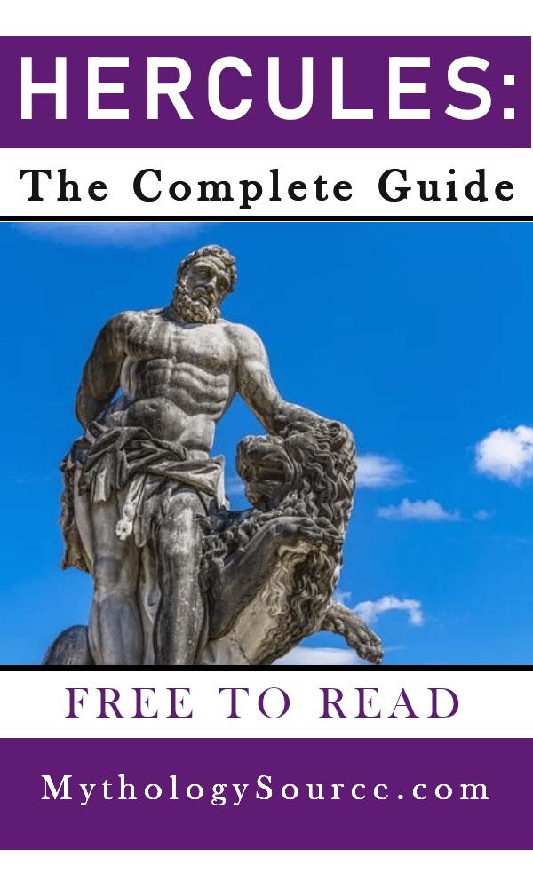 HERCULES: Hercules: The Legendary Hero of Greece and Rome