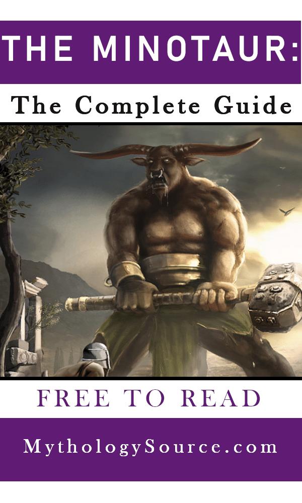 MINOTAUR 1: The Minotaur: The Bull-Headed Monster of Crete