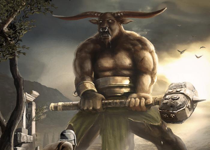 Minotaur Image: The Minotaur: The Bull-Headed Monster of Crete