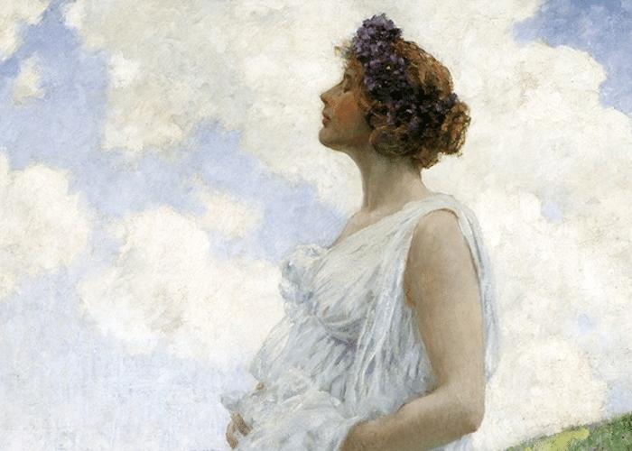 calyspo painting: Calypso: The Nymph Who Loved Odysseus