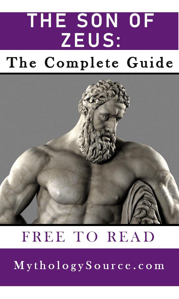 THE SON OF ZEUS: The Sons of Zeus