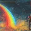 bifrost: The Bifrost Bridge Connecting Heaven and Earth