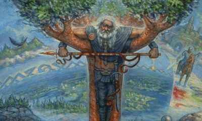 odins discovery of the runes: Odin's Discovery of the Runes