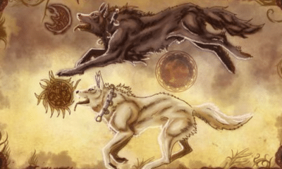 skoll hati: Sköll and Hati: The Norse Wolves of Darkness