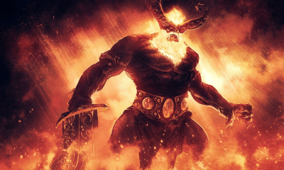 surt: The Giant Surt and the Armies of Ragnarök